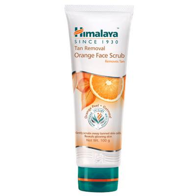 Himalaya Herbals Tan Removal Orange Face Scrub 100 gm