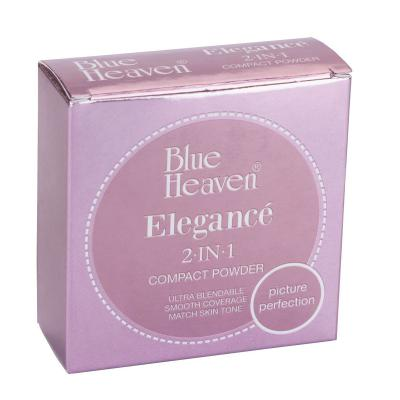 Blue Heaven Cosmetics Elegance 2 IN 1 Compact Powder - Natural (18 Grams)
