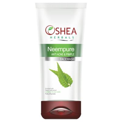 Oshea Herbals Neempure, Anti Acne And Pimple Face Wash - 80 gm