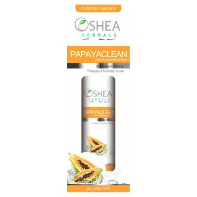 Oshea Herbals Papayaclean, Anti Blemishes Serum - 50 ml