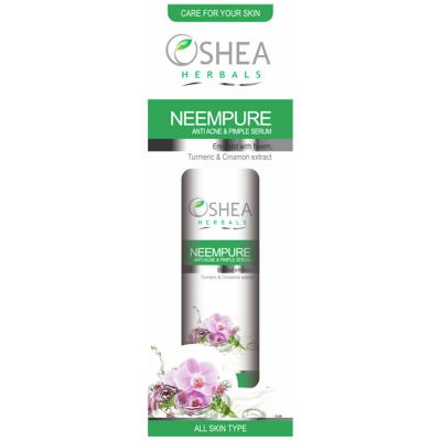 Oshea Herbals Neempure, Anti Acne & Pimple Serum - 50 ml