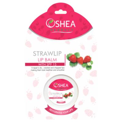 Oshea Herbals Strawlip Balm With Spf 15 - 8 gm