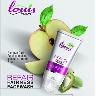 Louis Herbals Refair Fairness Facewash 100ml