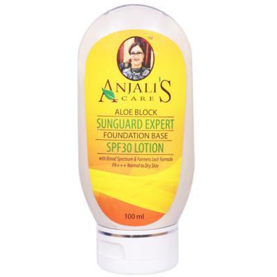Anjali's Care Aloe Block Sun Guard Expert Normal To Dry Skin SPF 30 Lotion