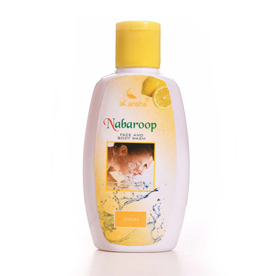 Akansha Nabaroop Lemon Face & Body Wash 200ml
