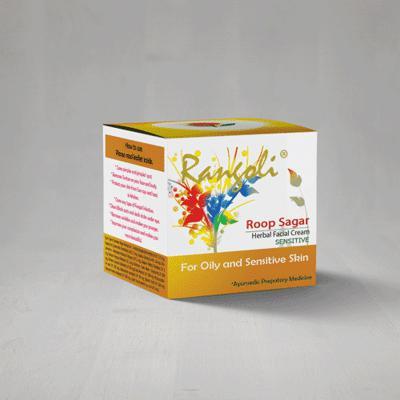 Rangoli Ayurved Roop Sagar Sensitive Cream