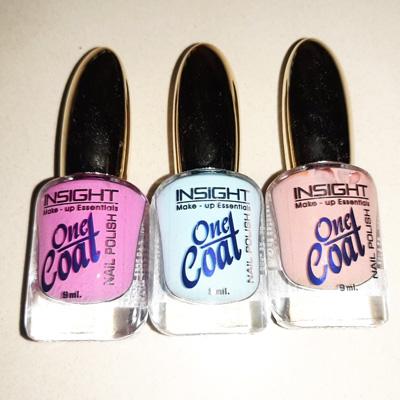 Insight One Coat Nail Polish 9 ml Combo 1 Pack Of 3