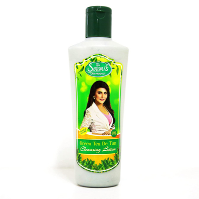 The Soumi's Can Product Green Tea De Tan Cleansing Lotion 200ml