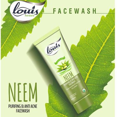 Louis Herbals Neem Purifing And Anti Acne Facewash 100ml