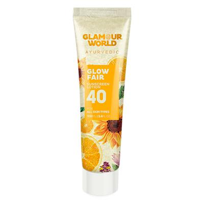 Glamour World Glow Fair 40 Sunscreen Lotion 100 ml