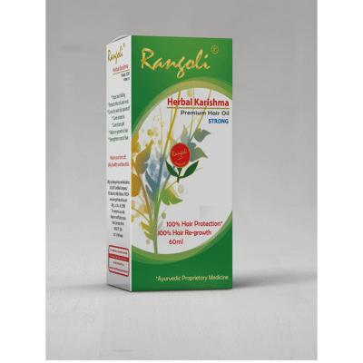 Rangoli Ayurved Herbal Karishma Hair Oil Strong