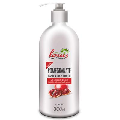 Louis Herbals Pomegranate Hand & Body Lotion