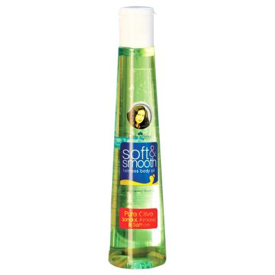 Keya Seth Soft & Smooth Fairness Body Oil – Pure Olive 200ml