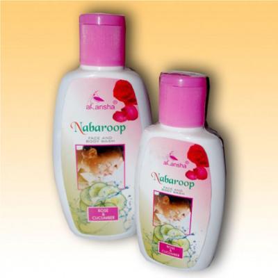 Akansha Nabaroop Rose & Cucumber Face & Body Wash 100 ml