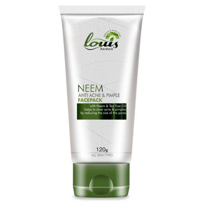 Louis Herbals Neem Anti Acne & Pimple Facepack