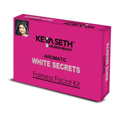 Keya Seth Aromatic White Secrets Fairness Facial Kit 25 GM