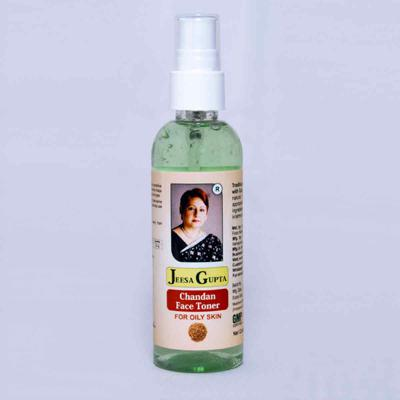 Jeesa Gupta Chandan Face Toner For Oily Skin, Pimple Prone, Sensitive Skin