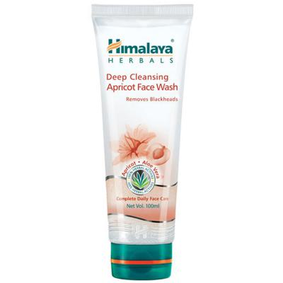 Himalaya Herbals Deep Cleansing Apricot Face Wash 100 ml