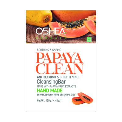 Oshea Herbals Papaya Clean Cleansing Bar 125g