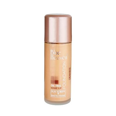 Blue Heaven Cosmetics Oil Free Foundation 30 ML (Cream Beige)