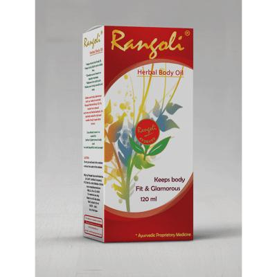 Rangoli Ayurved Herbal Body Oil