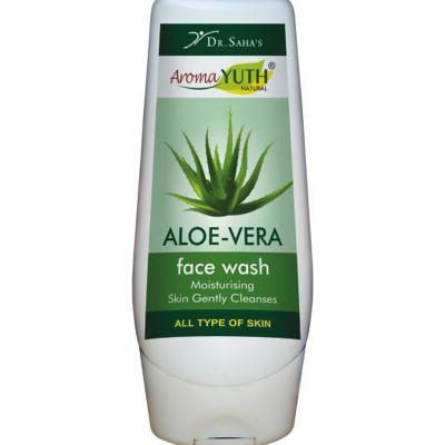 Aroma Yuth Natural Aloe Vera Face Wash 100 ML