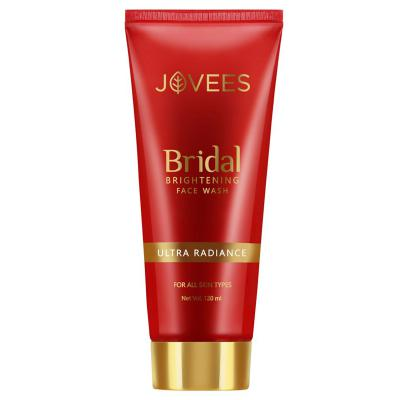 Jovees Herbals Bridal Brightening Face Wash 120 ml