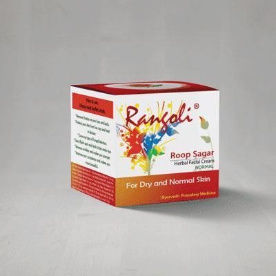 Rangoli Ayurved Roop Sagar Normal Cream