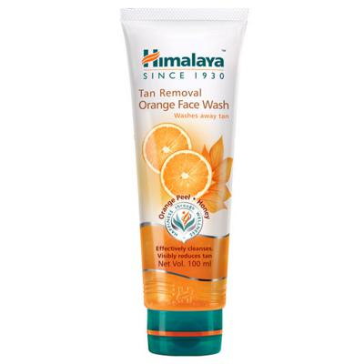 Himalaya Herbals Tan Removal Orange Face Wash 100 ml