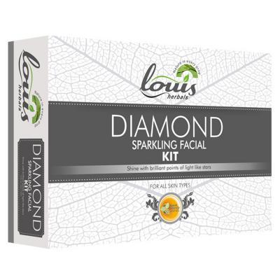 Louis Herbals Diamond Sparkling Facial Kit