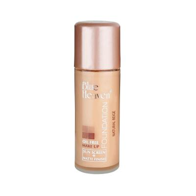 Blue Heaven Cosmetics Oil Free Foundation 30 ML (Natural Beige)