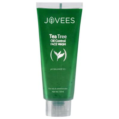 Jovees Herbals Tea Tree Oil Control Face Wash 120 ml