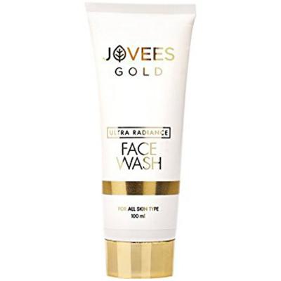 Jovees Herbals Ultra Radiance 24K Gold Face Wash 100 ml