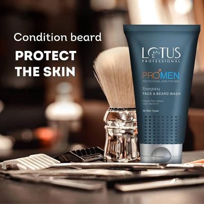 Lotus Professional Promen Energising Face And Beard Wash