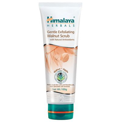 Himalaya Herbals Gentle Exfoliating Walnut Scrub 100 gm