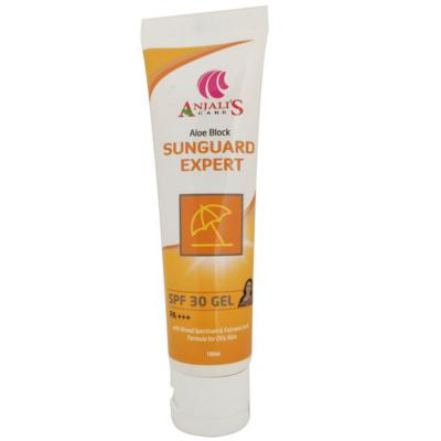 Anjali's Care Aloe Block Sun Guard Expert SPF 30 Gel 100ml