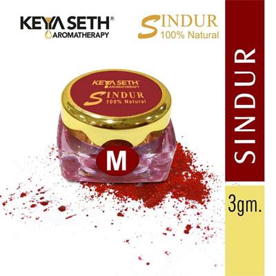 Keya Seth Aromatic Jewel Sindur – Powder Dust Maroon