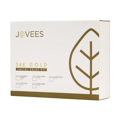 Jovees Herbals 24 Carat Gold Facial Value Kit