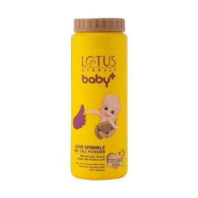 Lotus Herbals BABY LOVE Sprinkle NO Talc Powder 200 gm