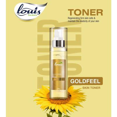 Louis Herbals Goldfeel Skin Toner 100 ml