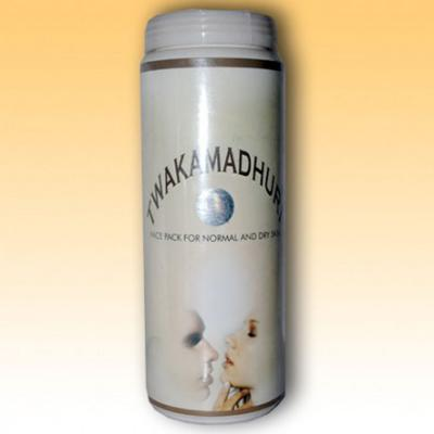 Akansha Twakamadhuri Face Pack for Normal to Dry Skin 200 gm