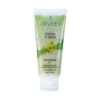 Jovees Herbals Jojoba & Wheatgerm Face Scrub 50 gm