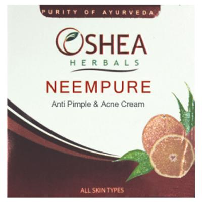 Oshea Herbals Neempure Anti Pimple & Acne Cream - 50 gm