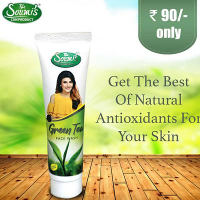 The Soumi's Can Product Green Tea Face Wash