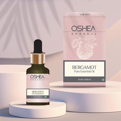 Oshea Herbals Bergamot Pure Essential Oil 15ml