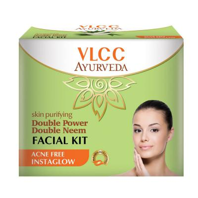 VLCC Double Power Double Neem Facial Kit