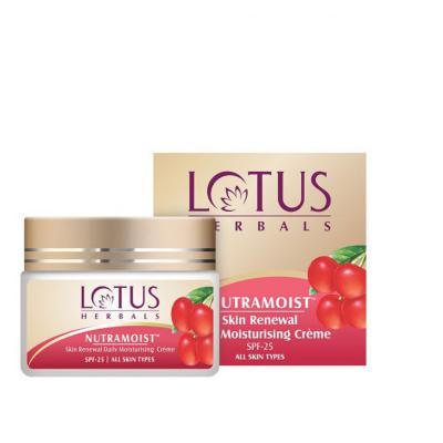 Lotus Herbals Nutramoist Skin Renewal Daily Moisturising Creme SPF - 25 - 50 gm