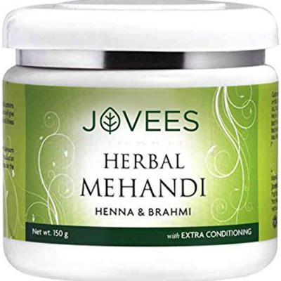 Jovees Herbals Henna & Brahmi Herbal Mehandi 150 gm