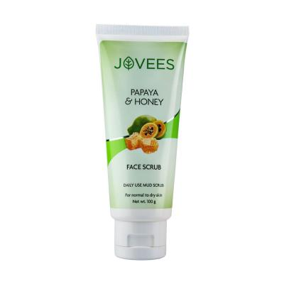Jovees Herbals Papaya & Honey Mud Scrub 50 gm
