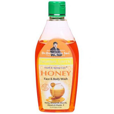 Parampara Honey Face & Body Wash 250ml